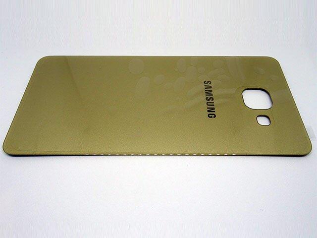 Capac baterie Samsung SM-A510F, Galaxy A5 2016 auriu ORIGINAL