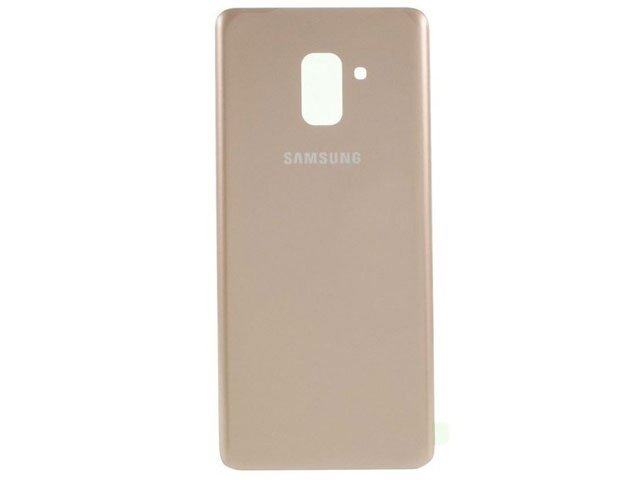 Capac baterie Samsung SM-A530F Galaxy A8 2018 auriu ORIGINAL DIN STICLA