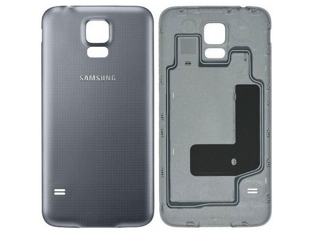 Capac baterie Samsung SM-G903F Galaxy S5 Neo argintiu original