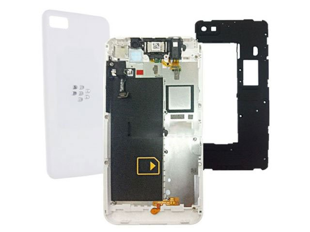 Carcasa BlackBerry Z10 4G alba originala