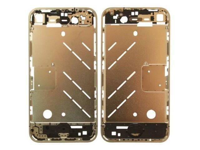 Carcasa mijloc Apple iPhone 4 argintie ORIGINALA