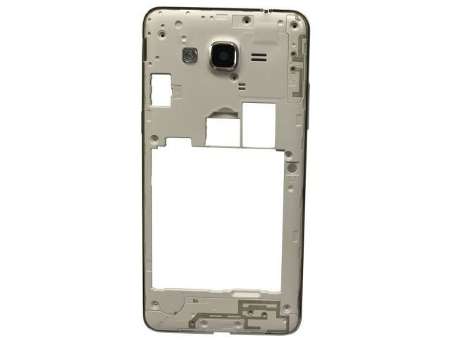 Carcasa mijloc Samsung SM-G531F Grand Prime Value Edition aurie originala