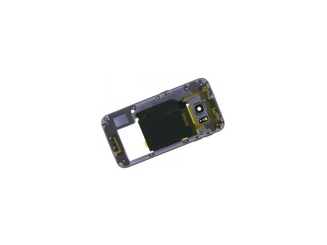 Carcasa mijloc Samsung SM-G925F Galaxy S6 edge aurie originala