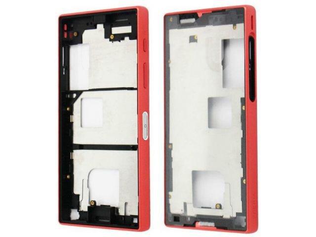 Carcasa rama mijloc Sony E5803, E5823, Xperia Z5 Compact coral originala