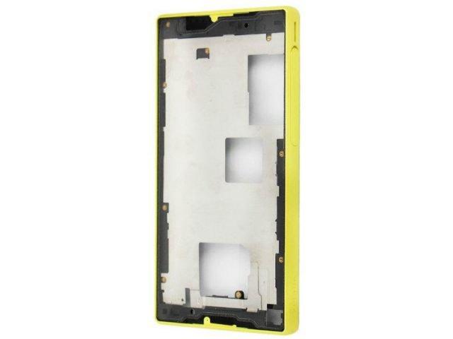 Carcasa rama mijloc Sony E5803, E5823, Xperia Z5 Compact galbena originala
