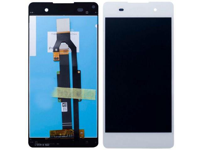 display cu touchscreen sony f3311 f3313 xperia e5 alb original