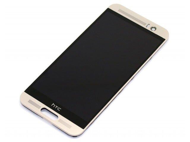 Display cu touchscreen si rama HTC One M9 Plus argintiu ORIGINAL