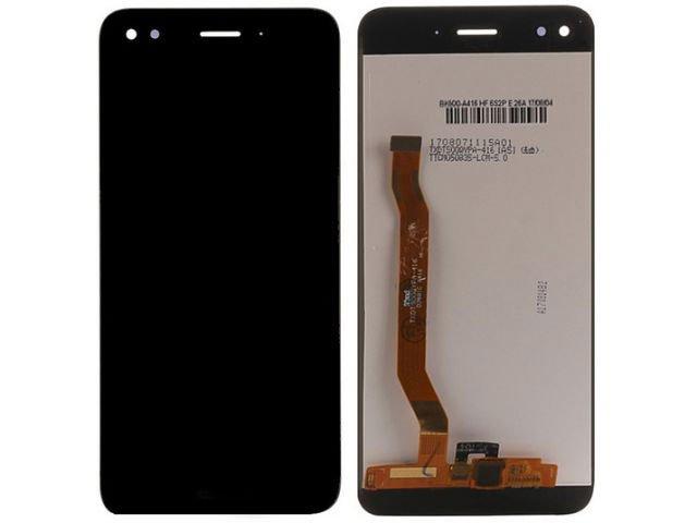 display cu touchscreen huawei p9 lite mini y6 pro 2017 negru original
