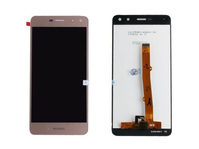 display cu touchscreen huawei y6 2017 mya-l02 mya-l03 mya-l22 mya-l23 auriu original