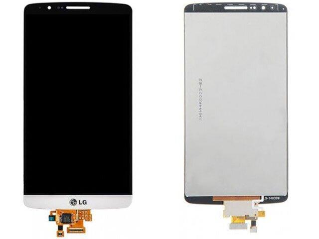 display cu touchscreen lg g3 alb
