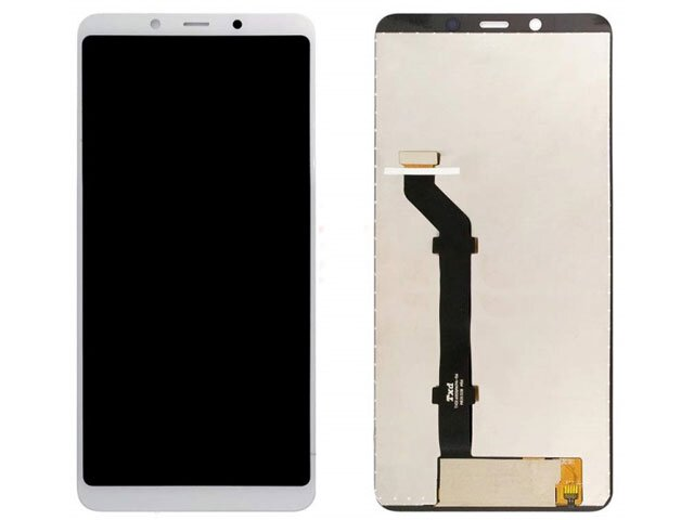 Display cu touchscreen Nokia 3.1 Plus, TA-1104, TA-1115, TA-1118, TA-1125 alb ORIGINAL