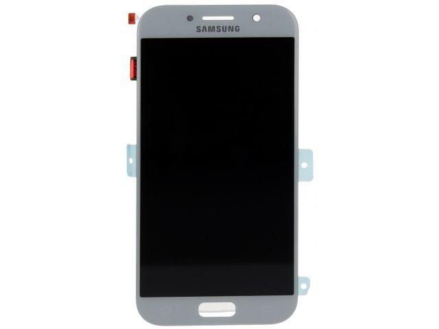 display cu touchscreen samsung sm-a520f galaxy a5 2017 albastru deschis original