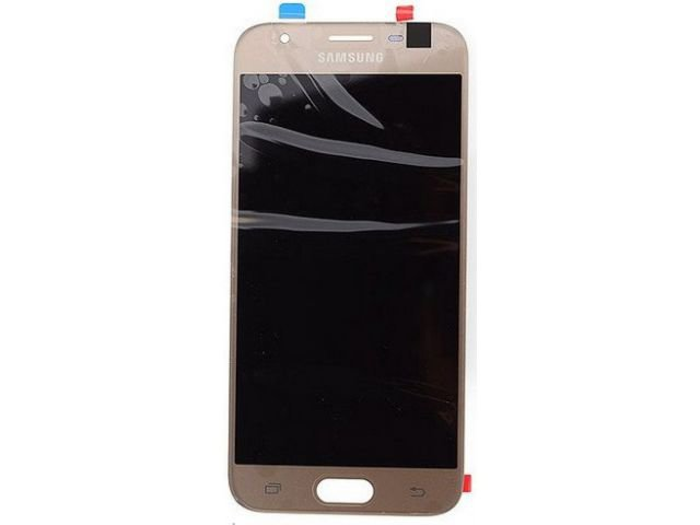 Display cu touchscreen Samsung SM-J330F Galaxy J3 2017 auriu original