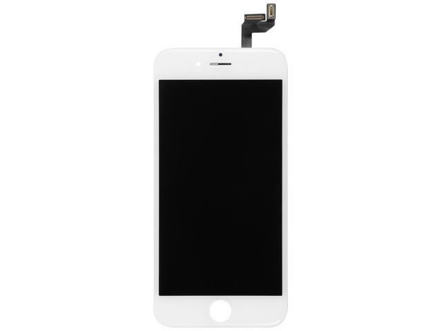 Display cu touchscreen si rama Apple iPhone 6S alb ORIGINAL