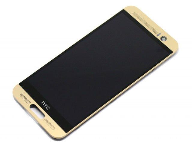 Display cu touchscreen si rama HTC One M9 Plus auriu ORIGINAL