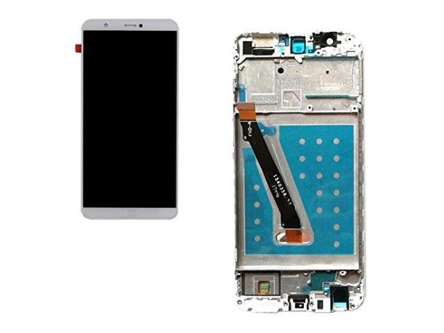 display cu touchscreen si rama huawei p smart fig-lx1 fig-la1 fig-lx2 fig-lx3 alb original