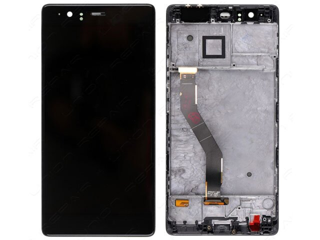 display cu touchscreen si rama huawei vie-l09 vie-l29 p9 plus original