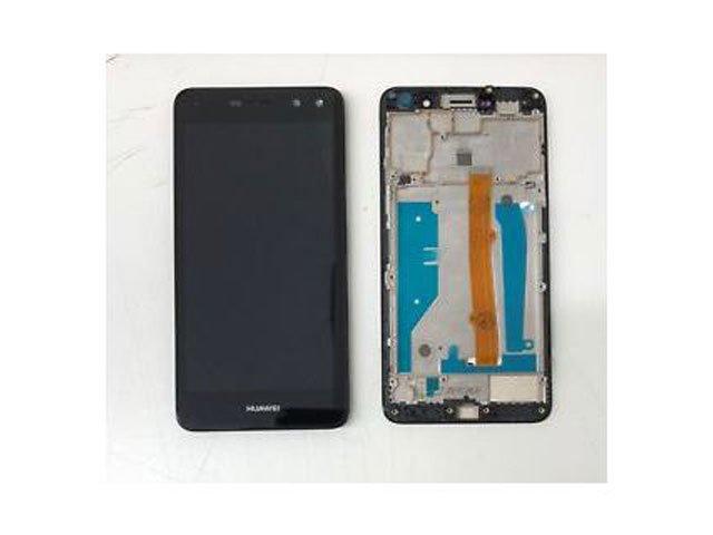 display cu touchscreen si rama huawei y6 2017 mya-l02 mya-l03 mya-l22 mya-l23 original