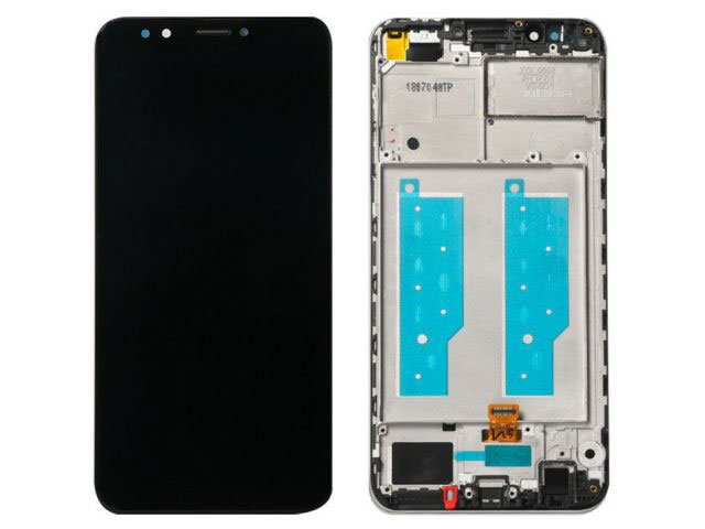 display cu touchscreen si rama huawei y7 prime 2018 ldn-lx1 ldn-lx2 ldn-l21 ldn-l22 y7 pro 2018 original