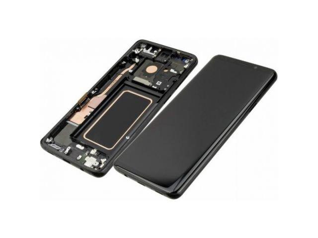 Display cu touchscreen si rama Samsung SM-G965F Galaxy S9+ original