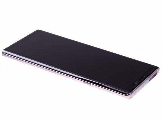 Display cu touchscreen si rama Samsung SM-N960F Galaxy Note 9 violet original