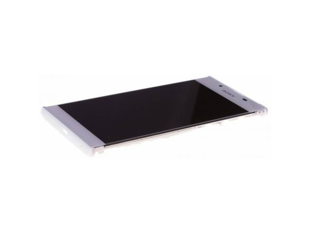 Display cu touchscreen si rama Sony G3311, G3312, G3313, Xperia L1 alb original