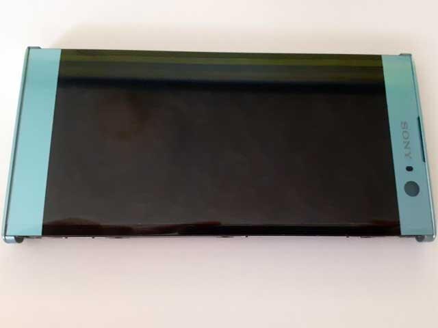 Display cu touchscreen si rama Sony H3113, Xperia XA2 , H4113, Xperia XA2 Dual albastru original
