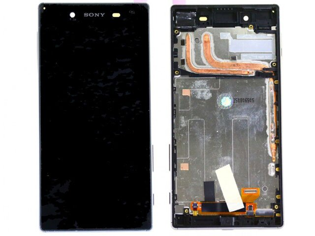 Display cu touchscreen si rama Sony Xperia Z5, Z5 Dual, E6603, E6633, E6653, E6683 ORIGINAL