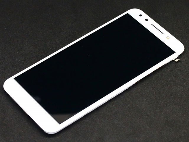 Display cu touchscreen si rama Vodafone Smart N9 Lite, VFD620 alb ORIGINAL