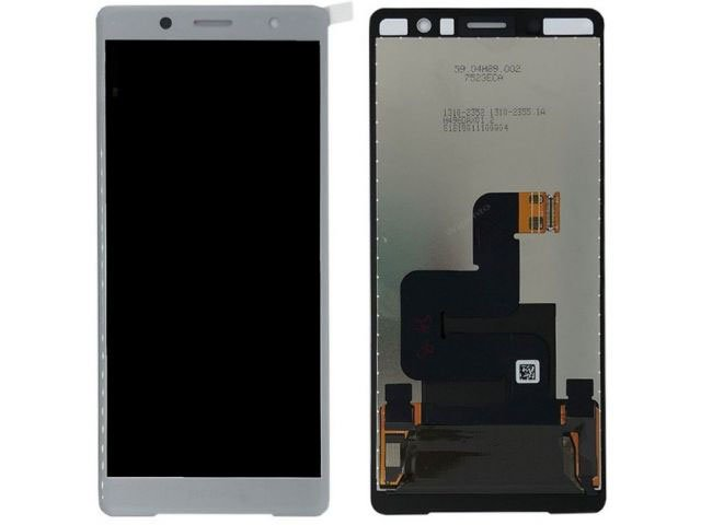 Display cu touchscreen Sony H8314, Xperia XZ2 Compact argintiu original