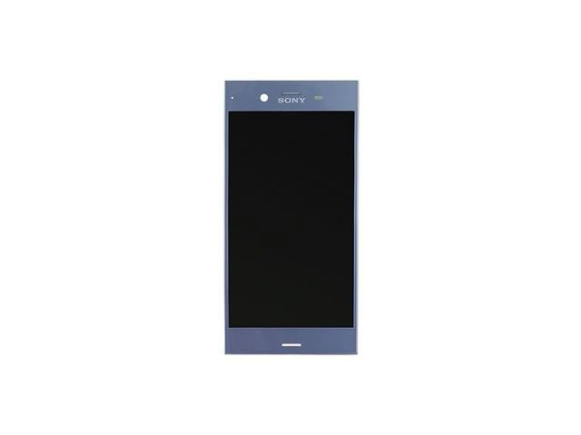 Display cu touchscreen Sony Xperia XZ1, F8341, F8342 albastru original