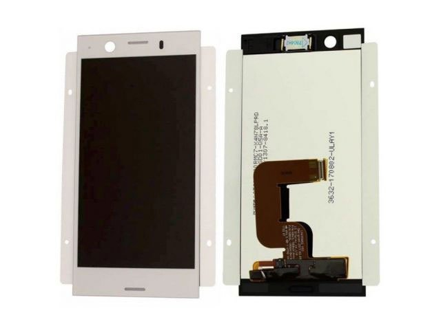 Display cu touchscreen Sony Xperia XZ1, F8341, F8342 argintiu original