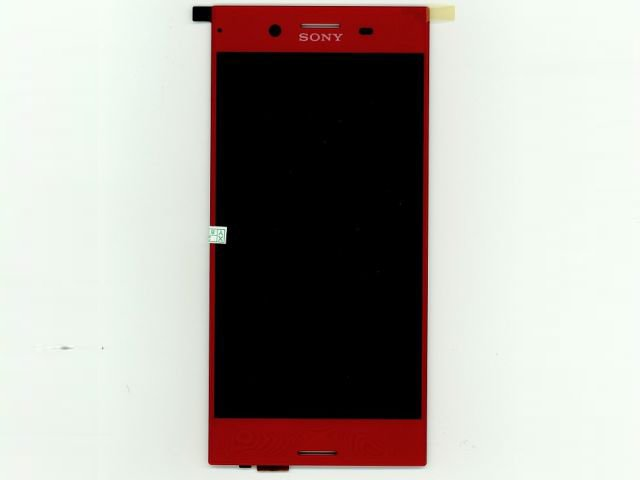 Display cu touchscreen Sony Xperia XZ Premium, G8141, G8142 rosu original