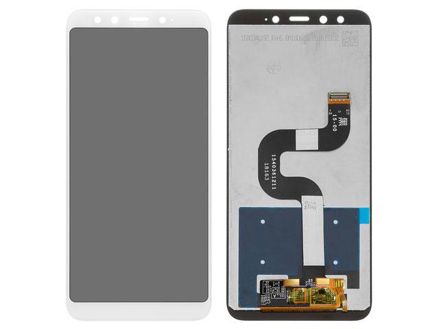 Display cu touchscreen Xiaomi Mi A2 (Mi 6X) alb ORIGINAL