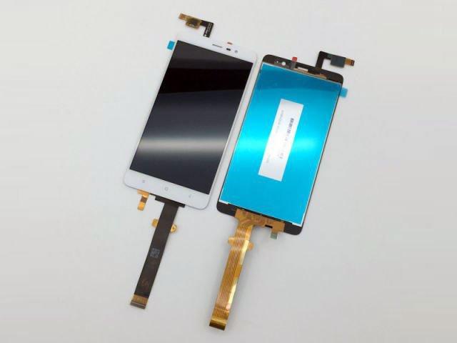 Display cu touchscreen Xiaomi Redmi Note 3 Pro alb original