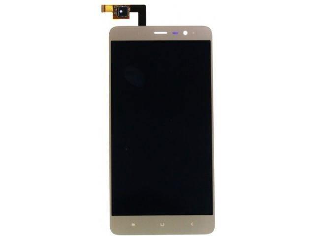 Display cu touchscreen Xiaomi Redmi Note 3 Pro auriu original