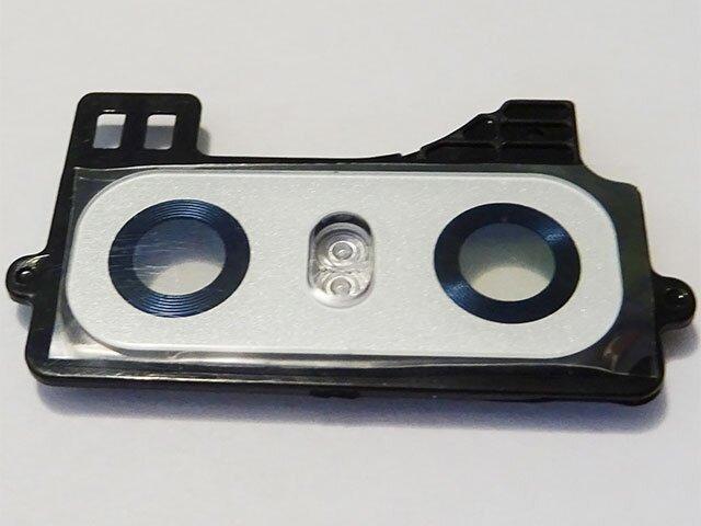 Geam camera LG G6, H870 alb ORIGINAL
