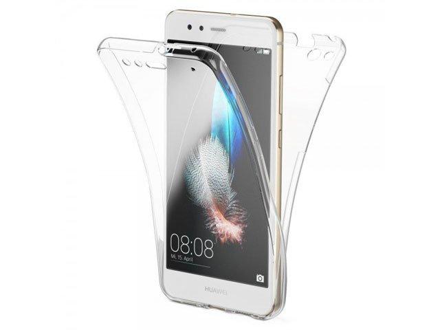 Husa 360° full cover fata spate din silicon transparent pentru Samsung SM-G965F Galaxy S9+
