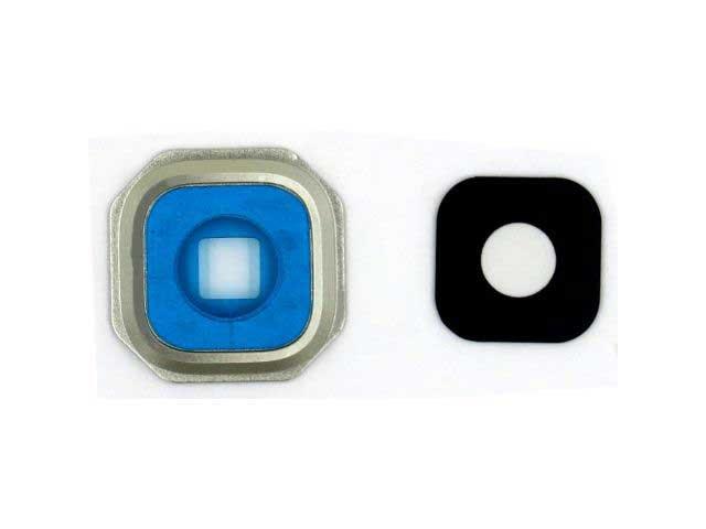 Set inlocuire geam camera Samsung SM-A310F, SM-A510F, A710F argintiu ORIGINAL
