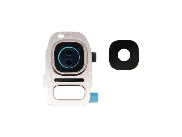 Kit inlocuire geam camera Samsung SM-G935F Galaxy S7 edge auriu original