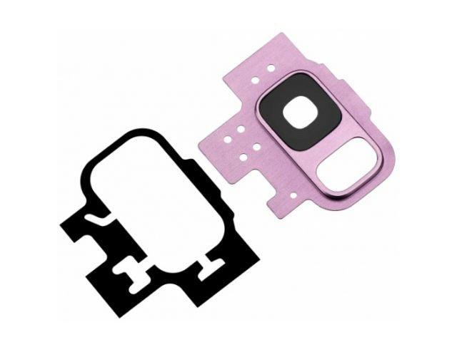 Kit inlocuire geam camera Samsung SM-G960F Galaxy S9 violet original