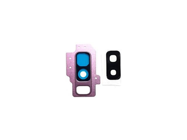 Kit inlocuire geam camera Samsung SM-G965F Galaxy S9+ violet original