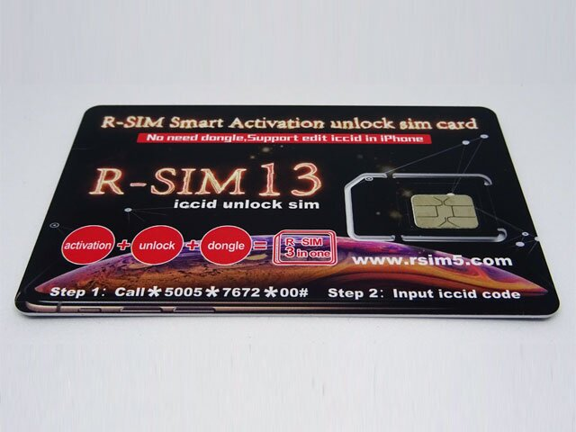 R-SIM 13 card decodare iPhone 5,5S,5C,5 SE,6,6 Plus,6S,6S Plus,7,7 Plus,8,8 Plus original