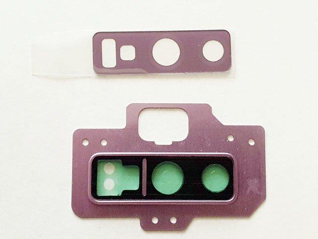 Set geam camera Samsung SM-N960F Galaxy Note 9 violet ORIGINAL