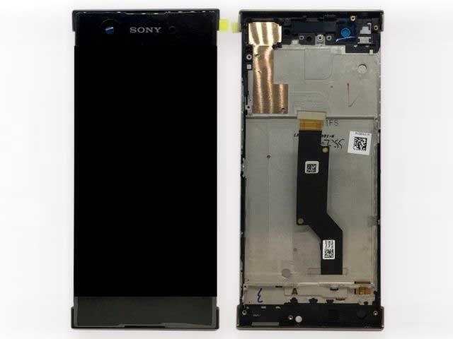 display cu touchscreen si rama sony xperia xa1 g3121 g3123 g3125 xperia xa1 dual g3112 g3116 original
