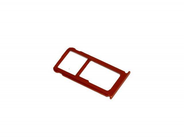 Suport sim si card Nokia 7 Plus portocaliu, TA-1062, TA-1046, TA-1062, TA-1055 original