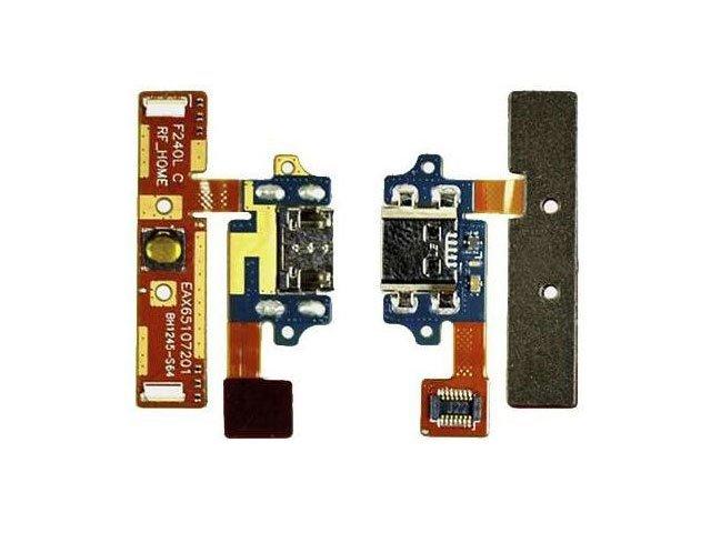 Banda cu conector alimentare si date LG E980, E985, F240 originala