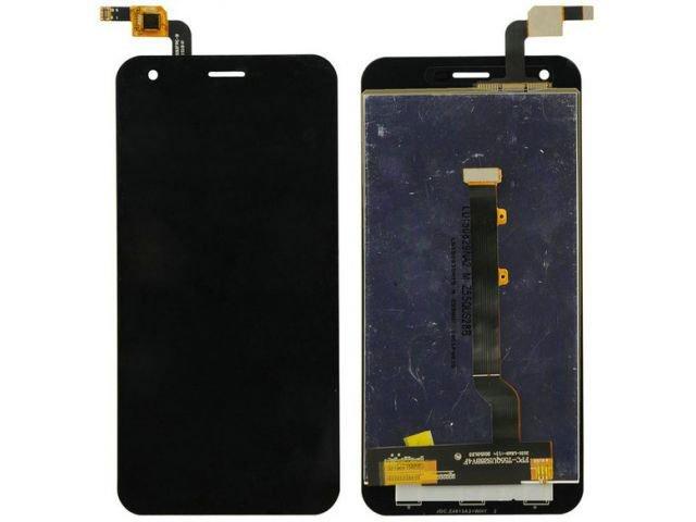 Display cu touchscreen Alcatel VF-995N, Vodafone smart ultra 6, VF995N negru original